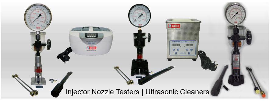 Injector Nozzle Pop Testers & Ultrasonic Cleaner