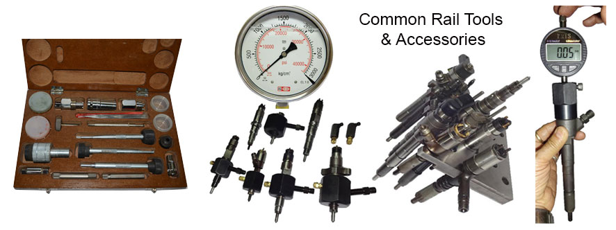 Common Rail Tools & Accessories