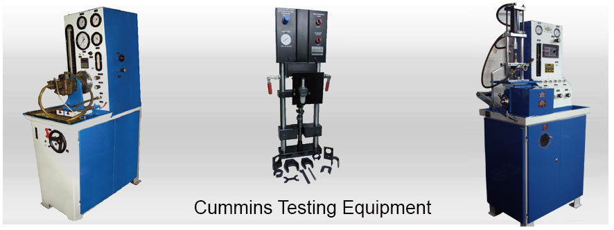 Common Rail Injector & Pump Testers