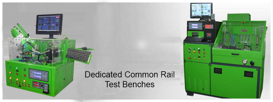 Dedicated Common Rail Test Benches