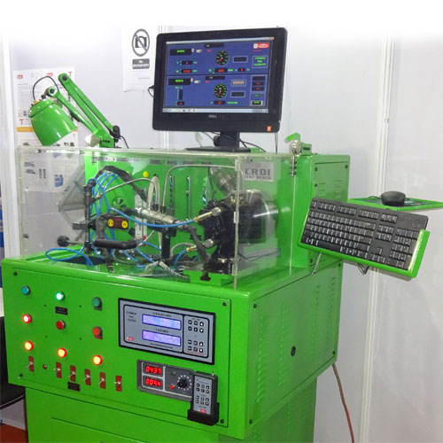 Mini Common Rail Injector Pump and Rail Testing Bench